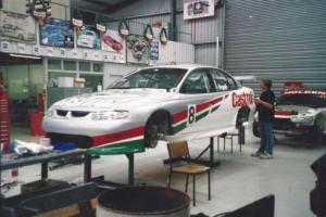 Ingall  #8   PE- 036 silver bullet 2000 VT supercar