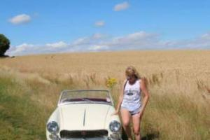 MG MIDGET WHITE Photo