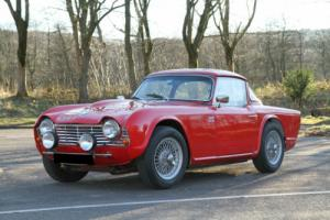 1964 TRIUMPH TR4 FULL HISTORIC RALLY SPEC FINISHED IN STUNNING RED!!!