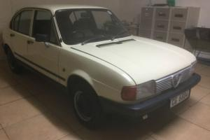 1984 Alfa Romeo Alfasud 1500cc twin carb 105Hp 5 door hatch.