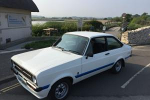 FORD ESCORT RS 1800 RECREATION, BUILT TO VERY HIGH STANDARD