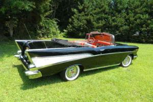 1957 Chevrolet Bel Air/150/210 Bel Air Convertible Factory AC