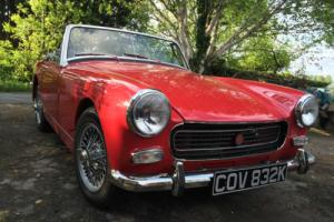 MG Midget RWA, Chrome Bumper, Wire Wheels
