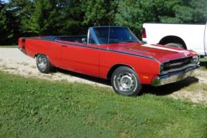 1969 Dodge Dart Convertible