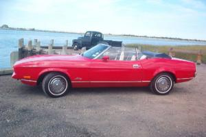 1972 Ford Mustang 1972 MUSTANG CONVERTIBLE BASE W/302 V-8 (1971-1973