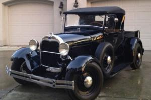 1928 Ford Model A Convertible Roadster Pickup