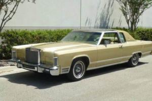 1979 Lincoln Town Car Glass top