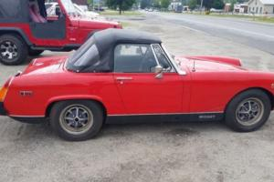 1975 MG Midget Photo