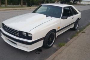 1983 Mercury Capri RS