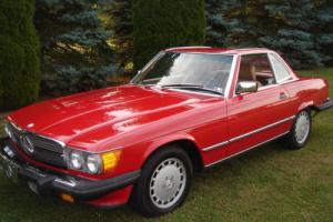 1987 Mercedes-Benz SL-Class 560 SL Convertible with Removable Hardtop