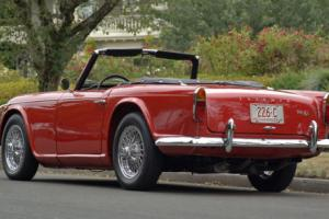 1965 Triumph Other : TR4-A  : Frame off restoration Photo