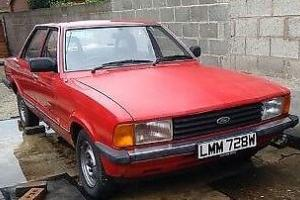 FORD CORTINA - LOW MILEAGE - MK 5 1.6 L AUTO