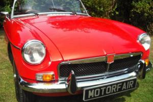 1973 MG/ MGB ROADSTER PHOTOGRAPHIC RESTORATION,HERITAGE BODY,OVERDRIVE Photo