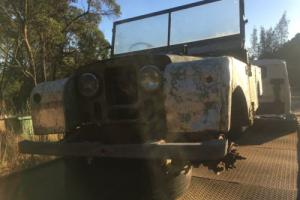 """2 X Land Rover Series 1 80"""" IN Various Conditions NO Reserve Need Gone Asap"""