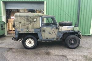 Land Rover Series III Lightweight Full FFR With Radio Operators Table 1980