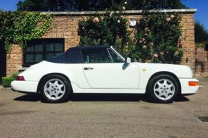 Porsche 964 Carrera 2 Cab, 1 previous owner, low milage, manual, pristine!