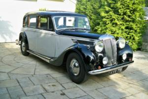 DAIMLER DE27 LIMOUSINE 1950 RARE WINDOVER BODY Photo