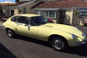1973 JAGUAR ETYPE V12 SERIES 3 ORIGINAL UK RHD MANUAL O/DRIVE SUPERB MECHANICAL