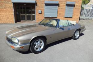 JAGUAR XJS 4.0 AUTO CONVERTIBLE (1995) TOPAZ GOLD! FACELIFT MODEL! GREAT SPEC! +