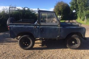 "Land Rover Series V8 Auto 2A SWB 88"" tax and MOT exempt pre 1960 classic rare"
