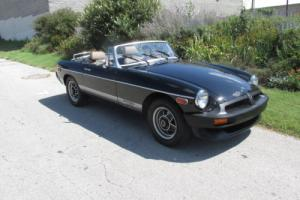 1980 MG MGB Limited Edition Photo