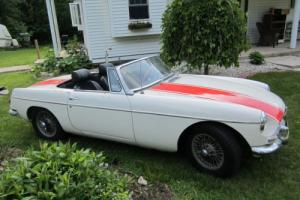 1963 MG MGB B Photo