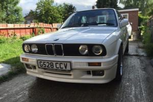 1990 Bmw E30 325i Sports Conversion, Alpine White 2dr Tech2 ( Perfect Example)