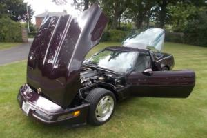 CHEVROLET CORVETTE 1992 300 HORSE LT1 - CHERISHED PLATE INCLUDED IN SALE.