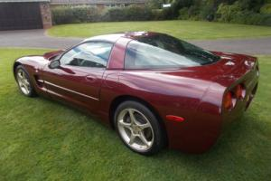 CHEVROLET CORVETTE 2003 50TH ANNIVERSARY EDITION. WARRANTED 28,560 MILES ONLY.