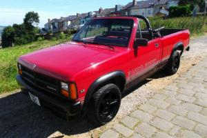 1989 DODGE DAKOTA 3.9 V6 SPORT CONVERTABLE PICKUP