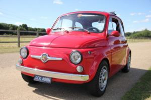 1969 Classic Fiat 500 595 Abarth Tribute - 5 speed, disc brakes, upgraded engine