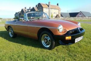 1982 MGB LE Roadster Photo