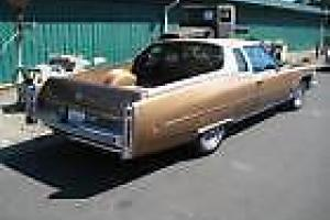 1974 Cadillac Fleetwood Brougham Pickup UTE Flower CAR in VIC