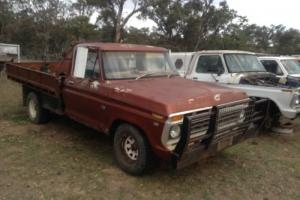 F100 V8 Manual Tray Back UTE 1978 Complete AND Going Suit F150 F250 Buyers
