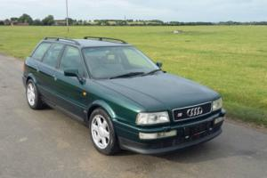 1995/ M PLATE AUDI S2 AVANT 2.2 TURBO QUATTRO 4X4 IN METALLIC DRAGON GREEN Photo