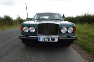 BENTLEY MULSANNE S, 1989 WITH FSH