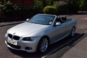 BMW 3 series hard top convertible E92 320i Silver, Full Black leather heated,38k