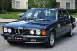 1985 BMW 7-Series 745i TURBO - GRAY MARKET - 33K MI