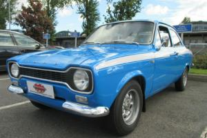 BFATNA – LHD 1973 production Ford Escort Mexico. Documented history from new!!