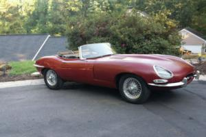 1967 Jaguar E-Type Convertible running to restore