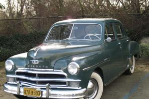 1950 Plymouth Special Deluxe 4 Door Sedan