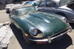 Jaguar e type 1971 roadster,matching numbers, ideal project with excellent base!
