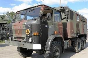 MILITARY Truck ! Perfect condition, complete, riding. Made in Poland !