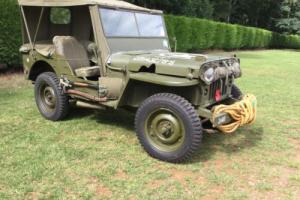 Willys M 38 Jeep
