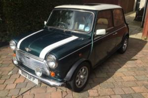1995 CLASSIC ROVER MINI COOPER 1.3I GREEN/WHITE GREAT CAR!