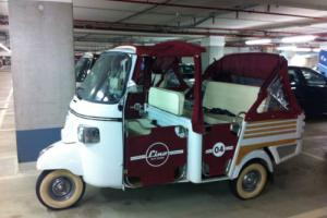 Piaggio Vespa APE Calessino Limited EDT 400 Tuk Tuk Food Truck Cart Trailer