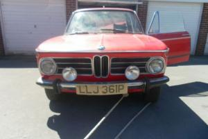 BMW 2002 TII LUX 1975 Barn Find Restoration Project