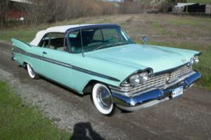 1959 Plymouth Fury Convertible