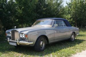 1969 Rolls-Royce Silver Shadow RR Silver Shadow Convertible by Mulliner Park Ward Photo