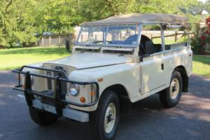 1969 Land Rover Series IIA